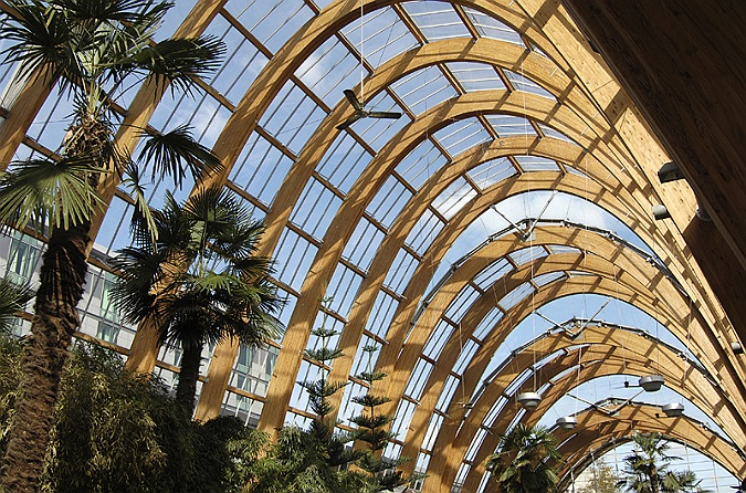 Architectural Photographer Sheffield Winter Gardens